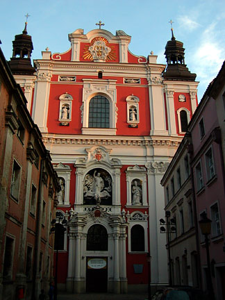 Poznan for Churches of baroque period